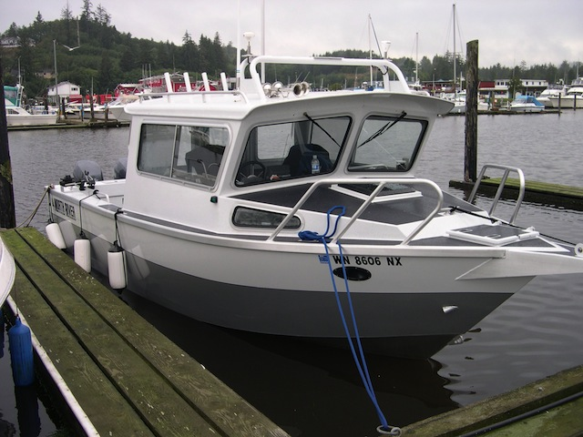 Fishscouter 2008 north river seahawk os for Seahawk fishing boat