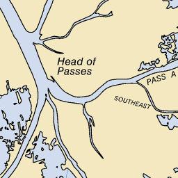 venice louisiana fishing maps Venice La Fishing Reports And Maps venice louisiana fishing maps